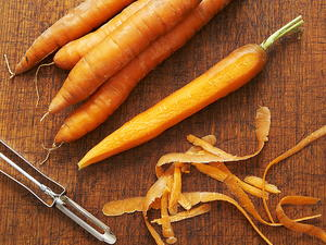 Roast Carrots with Butter, Cumin and Orange