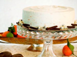 Christmas Fig and Spice Cake with Creamy Citrus Frosting