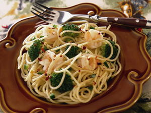 Speedy Shrimp Primavera