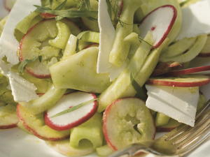 Celery, Fennel, and Radish Salad