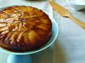Caramel Apple Upside-Down Cake
