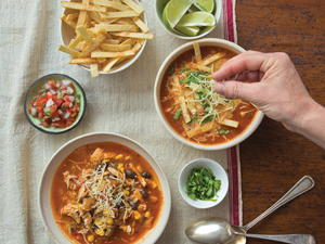 Mexican Tortilla Chicken Soup