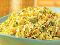 Crunchy, Colorful Thai Cabbage Slaw
