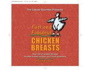 Fast and Fabulous Chicken Breasts