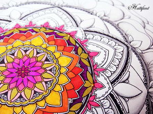 Mandala Coloring Pages Calendar