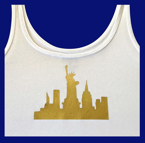 Gold Foil DIY T-Shirt