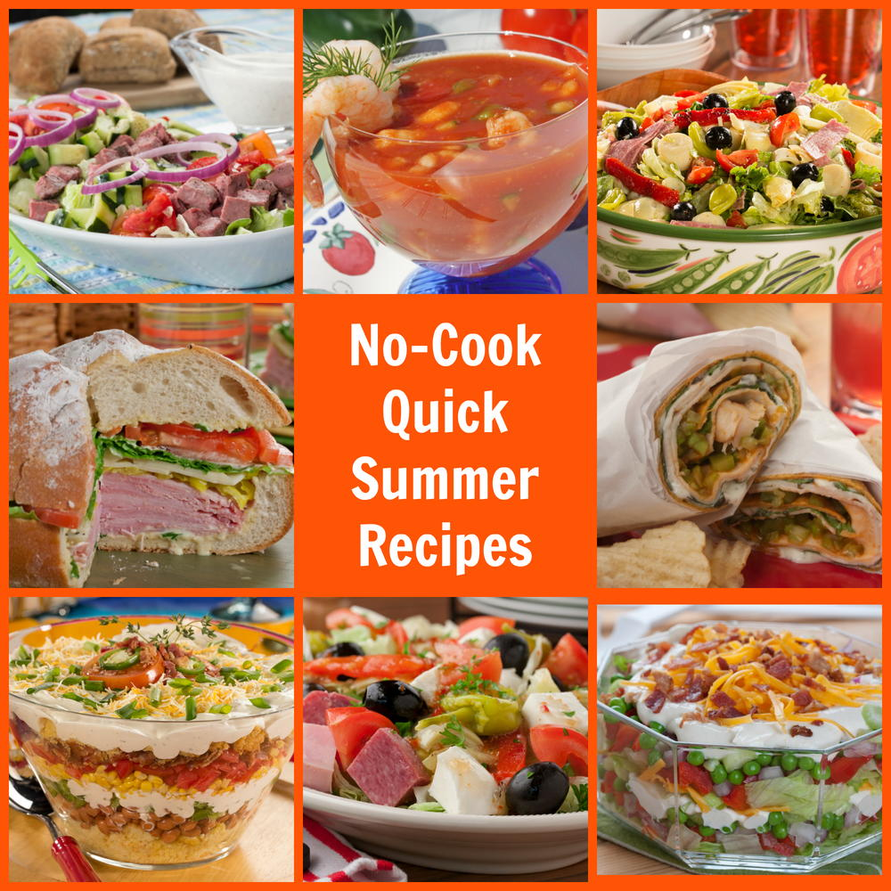No cook quick summer recipes mrfood forumfinder Gallery