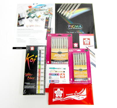 Stunning Sakura Pens and Water Colors Collection
