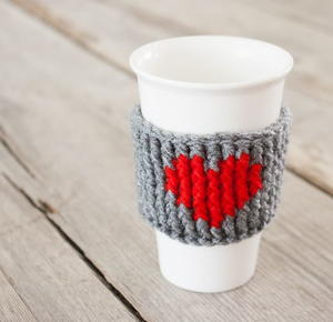 Coffee Love DIY Cup Cozy