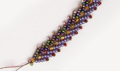 How to Bead a Double St. Petersburg Chain