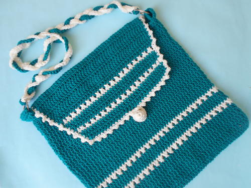Crochet Shoulder Bag Pattern Free : Crochet Shoulder Bag AllFreeCrochet.com