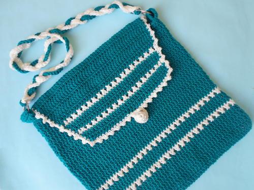 Bucket Bag Crochet Pattern : Crochet Shoulder Bag AllFreeCrochet.com
