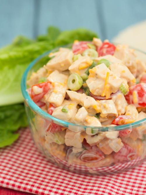 Sriracha Ranch Chicken Salad | RecipeLion.com