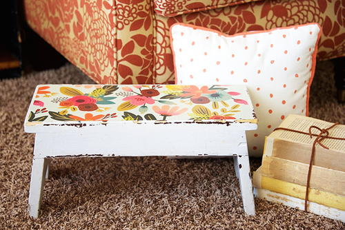 1960s-Inspired Step Stool
