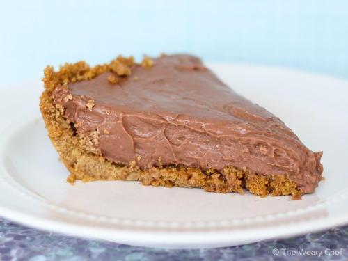 No Bake Chocolate Cheesecake Pudding Pie