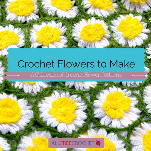 Make Crochet Flower Pattern : 92 Crochet Flowers to Make AllFreeCrochet.com