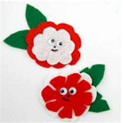 Fun Flower Pins