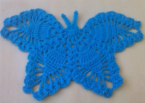Amigurumi Butterfly Crochet Patterns Free : Crochet Butterfly AllFreeCrochet.com