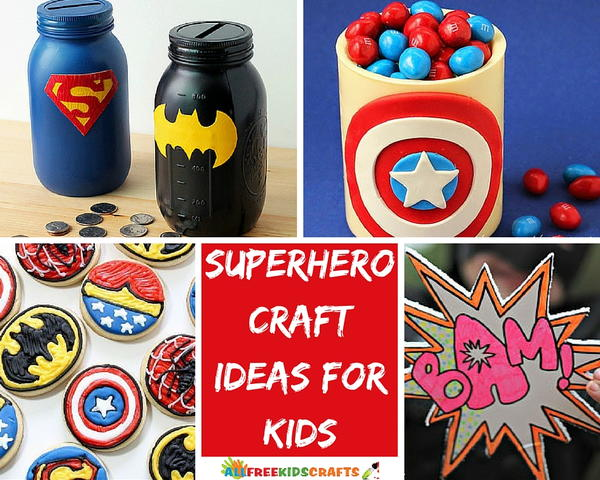Superhero Craft Ideas for Kids