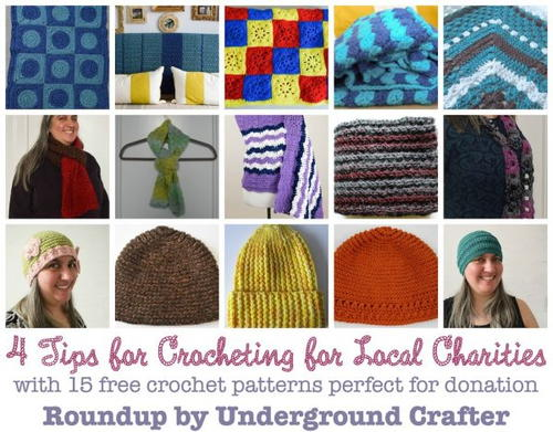 Knitting Or Crocheting For Charity : How to get started crocheting or knitting for charity