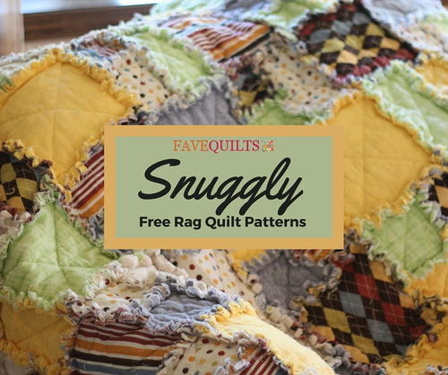 Snuggly Free Rag Quilts