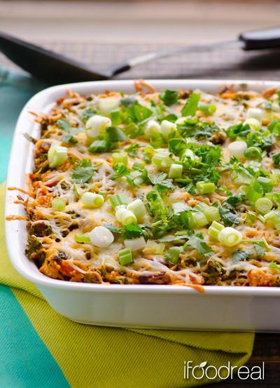 Chili Chicken, Kale, and Quinoa Casserole | AllFreeCasseroleRecipes ...
