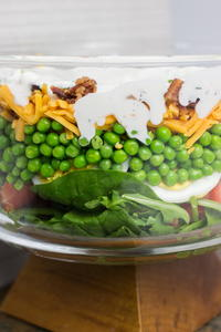 How to Make the Best 7 Layer Salad