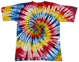 Colorful Tie Dye Shirt