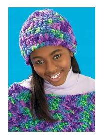 Loopy Crochet Cap