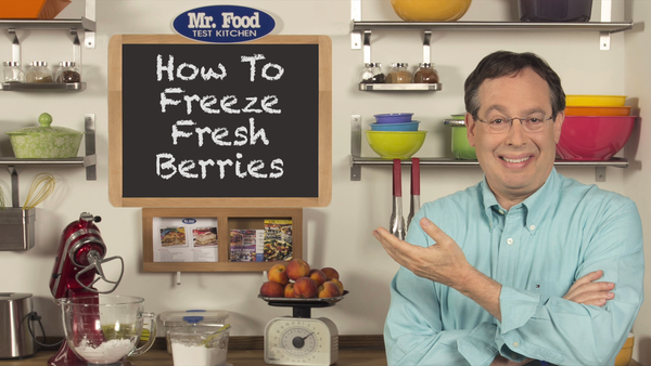 How to Freeze Fresh Berries