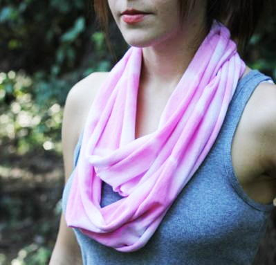 Darling Dyed Infinity Scarf