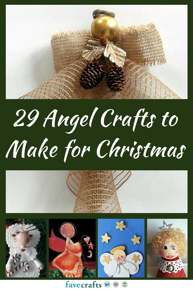 29 Angel Crafts to Make for Christmas