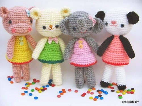 The Girlgang Amigurumi Patterns