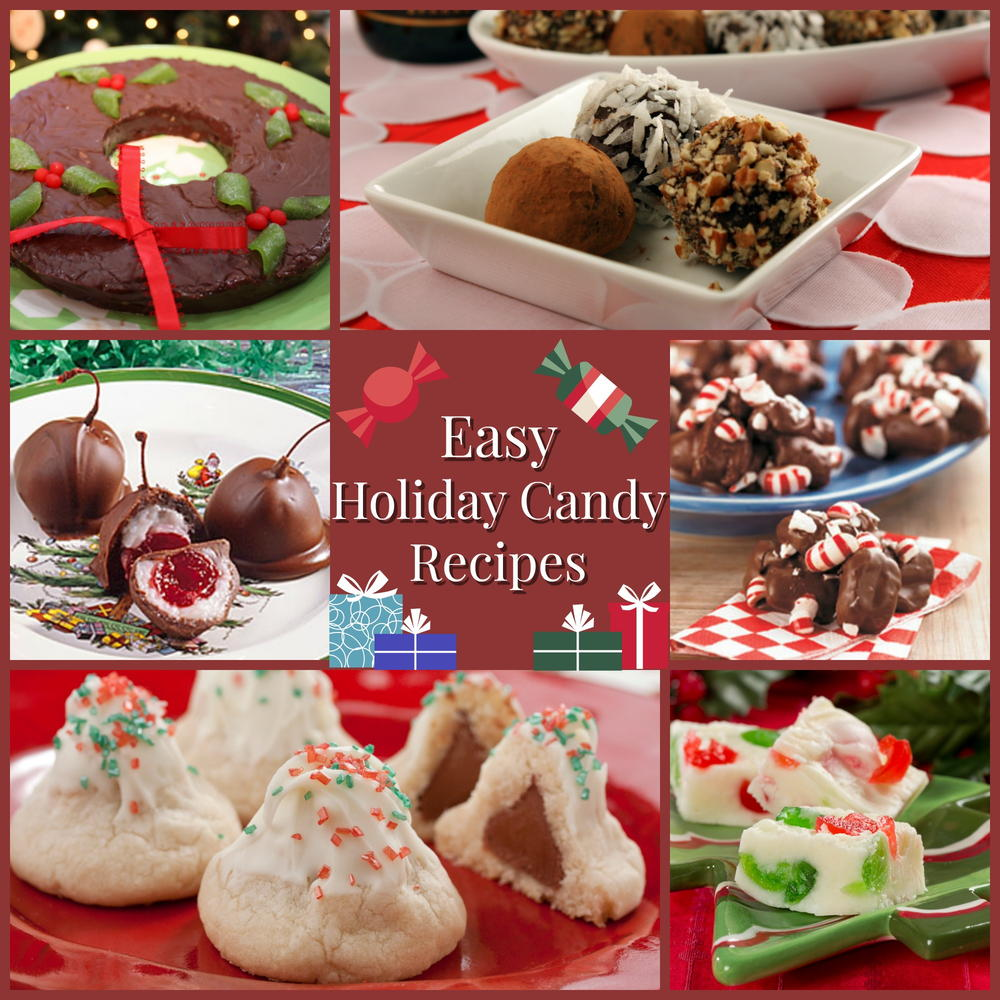 10 easy holiday candy recipes mrfoodcom - Best Christmas Candy Recipes