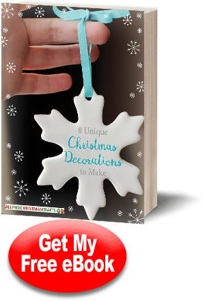"""8 Unique Christmas Decorations to Make"" eBook"