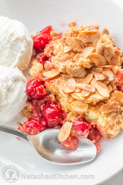 Cherry Dump Cake Recipes Without Pineapple