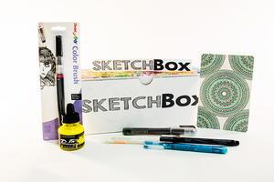 SketchBox May Premium Box Review   FaveCrafts.com