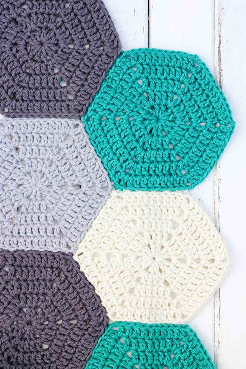 How to Join Crochet Hexagons with an Invisible Seam FaveCrafts.com