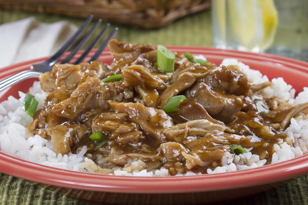 Slow Cooker Bourbon Chicken Mrfood