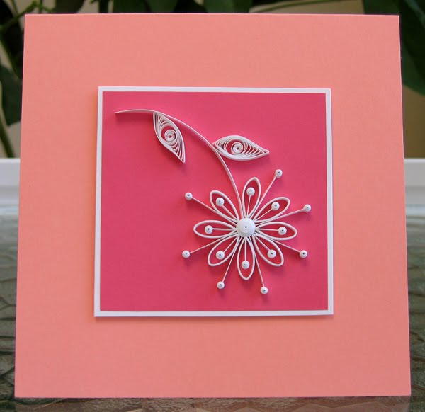 Simple Quilled Daisy Card
