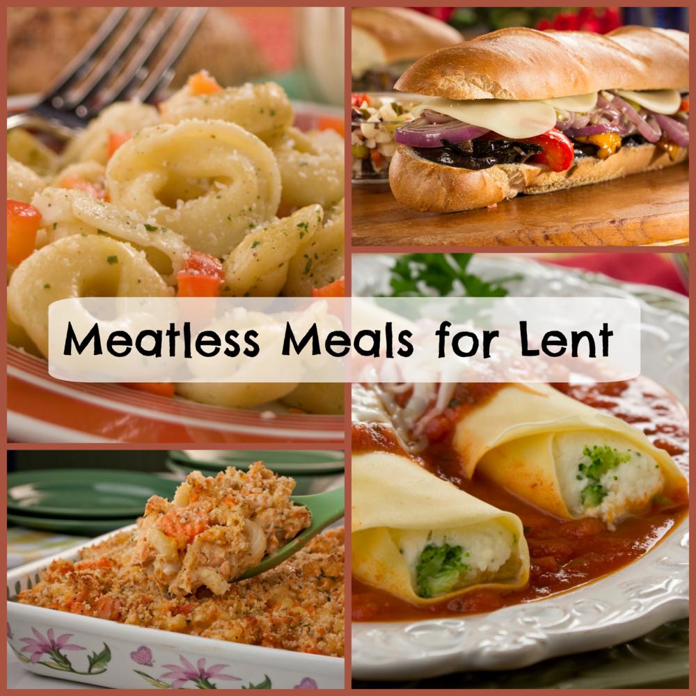 recipes for lent: 30 meatless meals | mrfood