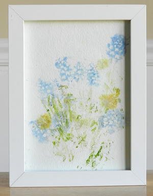Flowery DIY Wall Art