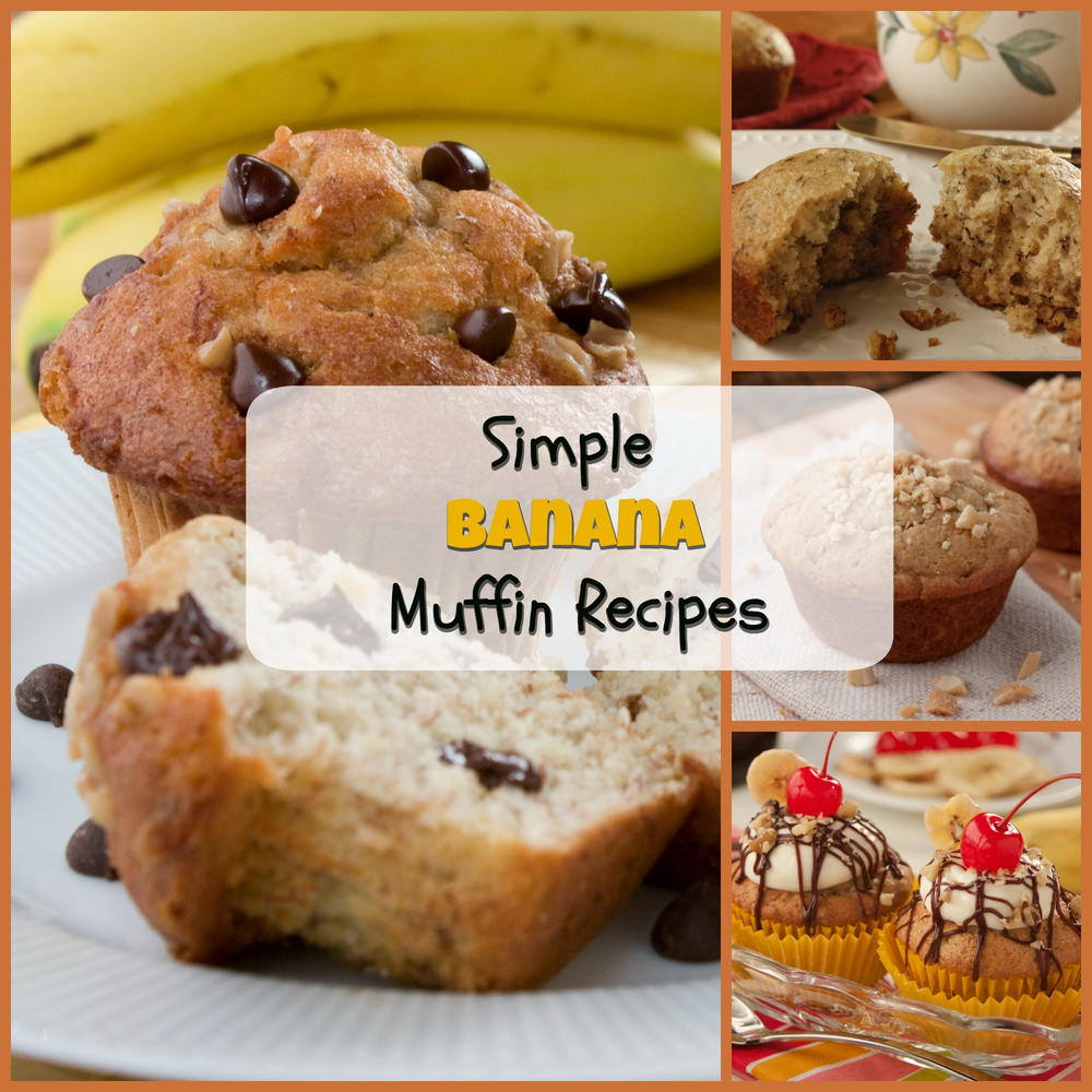 6 simple banana muffin recipes mrfood forumfinder Images