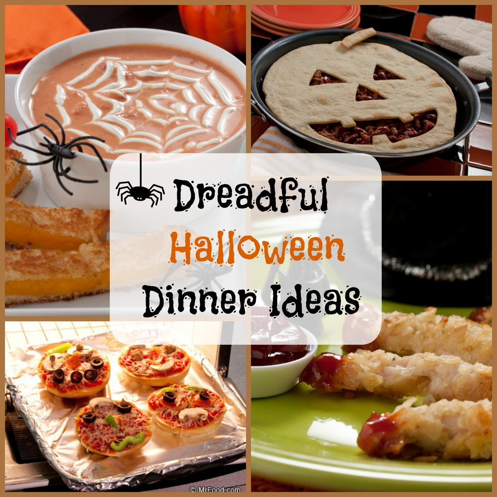 8 dreadful halloween dinner ideas | mrfood