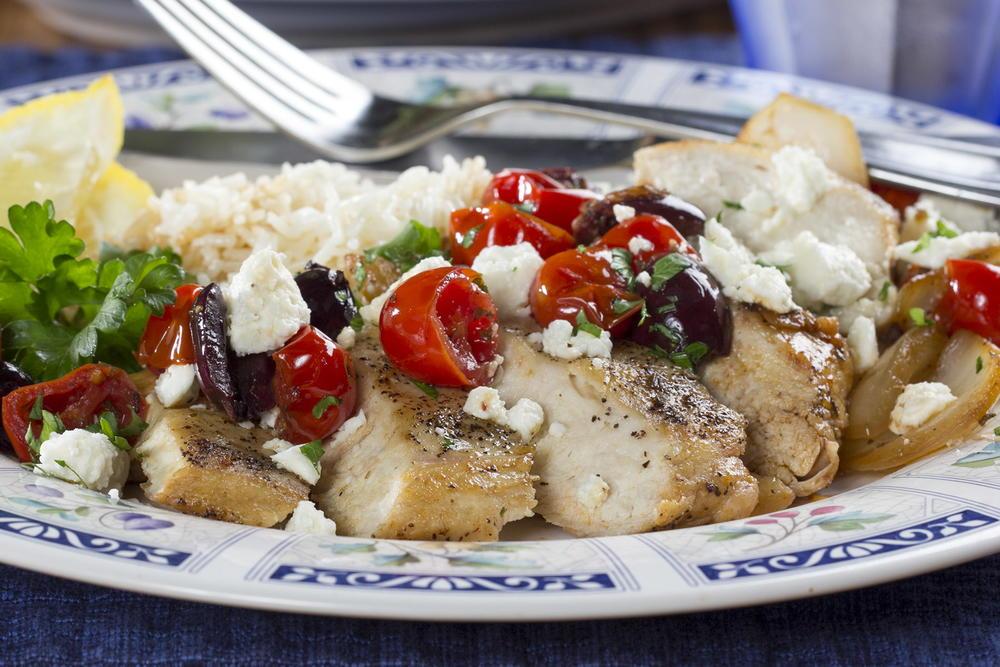 Quick As A Wink Greek Chicken Mrfood