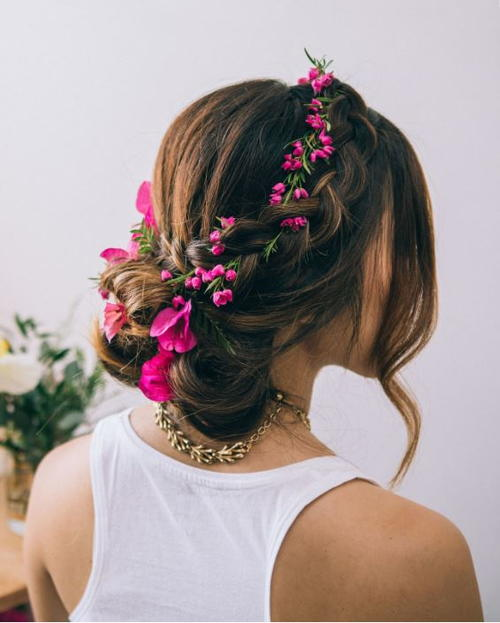 dutch flower braid tutorial allfreediyweddingscom