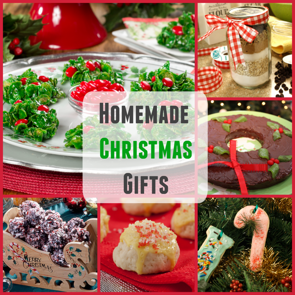 Christmas Food Craft Ideas Part - 22: Homemade Christmas Gifts: 20 Easy Christmas Recipes And Holiday Crafts |  MrFood.com