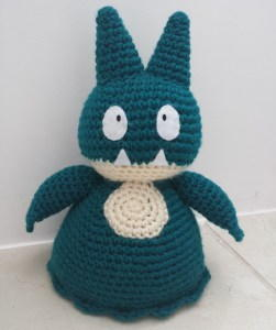 Pokemon-Inspired Crochet Doorstop