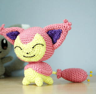 Pokemon-Inspired Crochet Toy