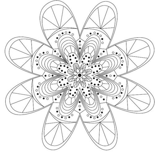 Darling Daisy Printable Mandala